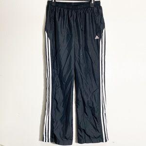 Adidas Black Performance Windbreaker Track Pants